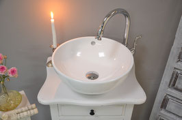 "- SOLD - ""Amelie""  SMALL SHABBY CHIC VANITY"