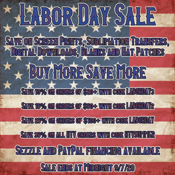 HUGE Labor Day Sale!