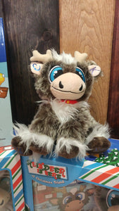 "Reindeer In Here: A Christmas Friend 8"" Plush Toy"