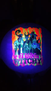 Halloween Fluorescent Glow Sublimation Transfers