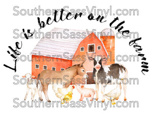 Better On the Farm- Digital Download