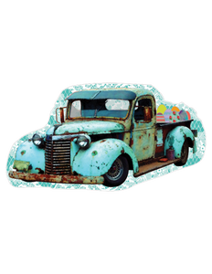 Easter Egg Truck- Digital Download