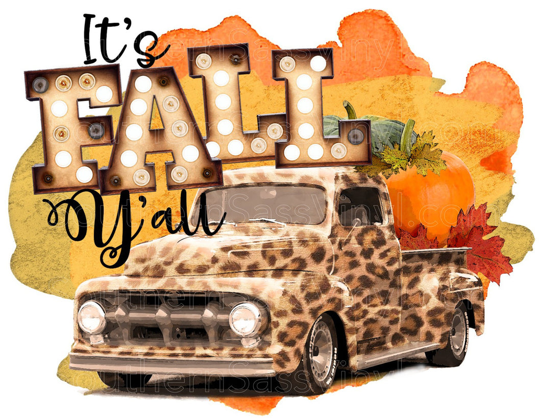 Fall Yall - Full Color Ready To Press Transfers