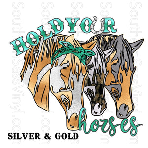 Hold Your Horses- Digital Download