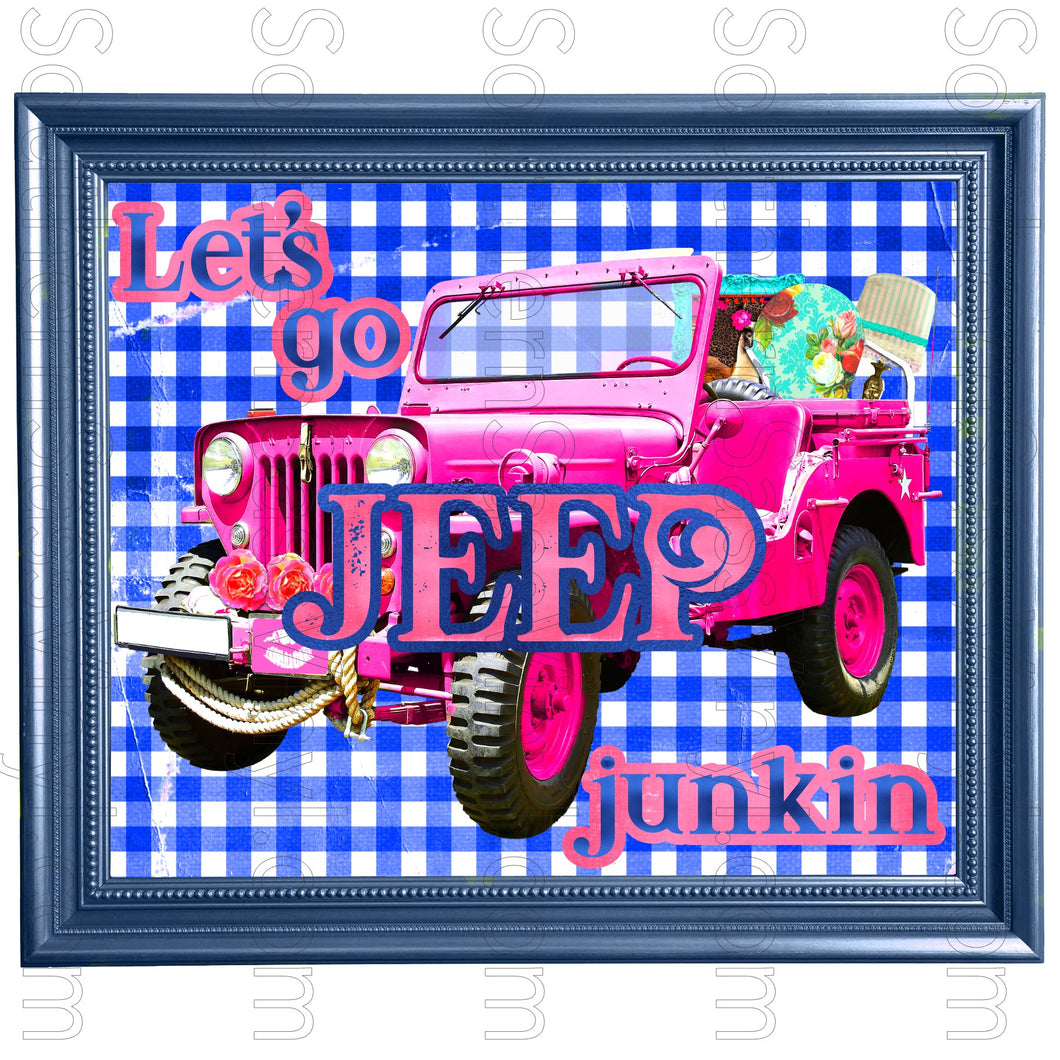Jeep Junkin- Digital Download