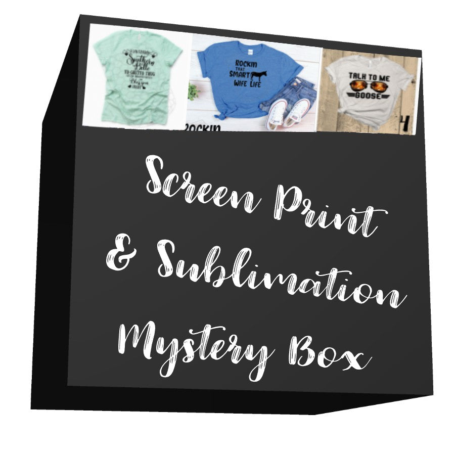 Screen Print and Sublimation Mystery Box