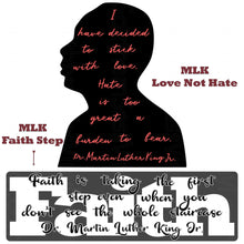 "Load image into Gallery viewer, ""MLK Faith Step""- Ready To Press Transfer"