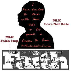 """MLK Faith Step""- Ready To Press Transfer"