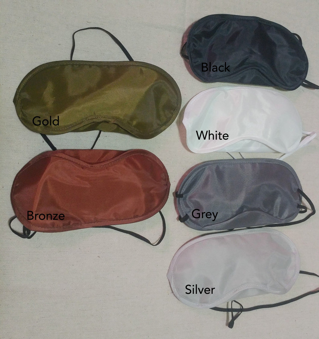 Silky Sold Color Night Masks