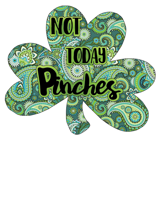 Not Today Pinches (Paisley)- Digital Download