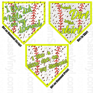 Softball Designs- Ready To Press Transfer