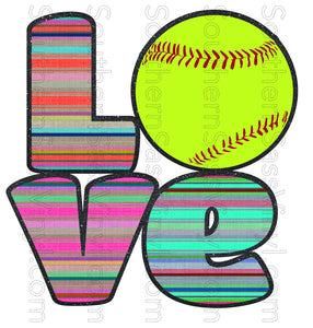 Softball Love- Digital Download