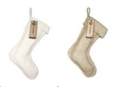 Canvas or Burlap Stocking