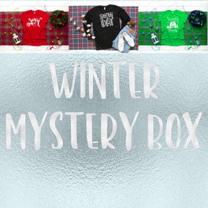 Winter Themed Sublimation Mystery Box
