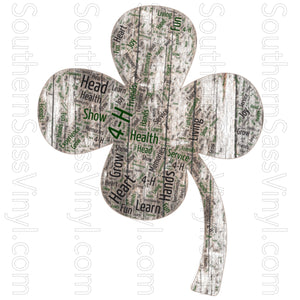 4-H and FFA Designs- Ready To Press Transfer
