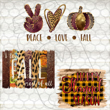 Load image into Gallery viewer, Fall Designs- PNG Clip Art Instant Digital Download