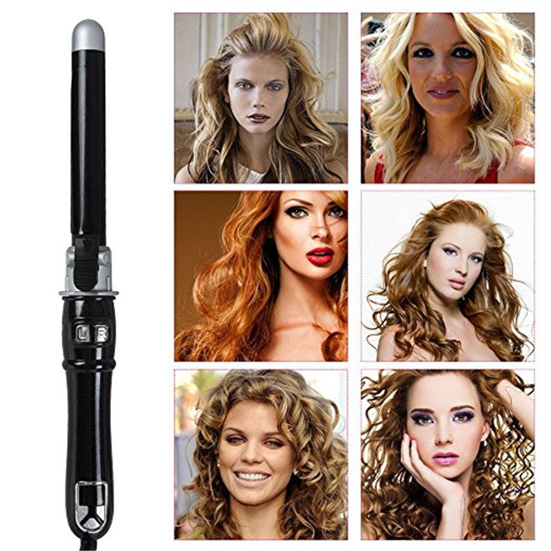 25 mm Automatic Hair Curler Rollers Titanium Curling Iron