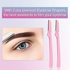 Leihou61 Eyebrow Stencil  8 Styles Reusable Eyebrow Template Eyebrow Shaping Kit