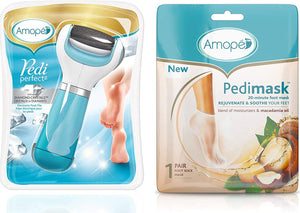 Amope Pedi Perfect Electronic Dry Foot File 【Buy one get one FREE】