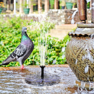 Leihou61 Solar Powered Fountain Pump