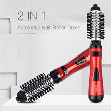 Load image into Gallery viewer, Leihou61 ONE-STEP 2 in 1 Ceramic Rotating Curling Iron Brush