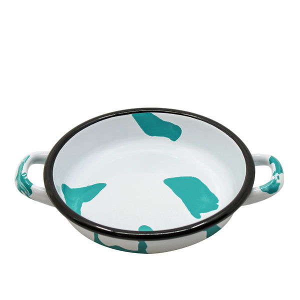 A Little Color Frying Pan Turquoise Green