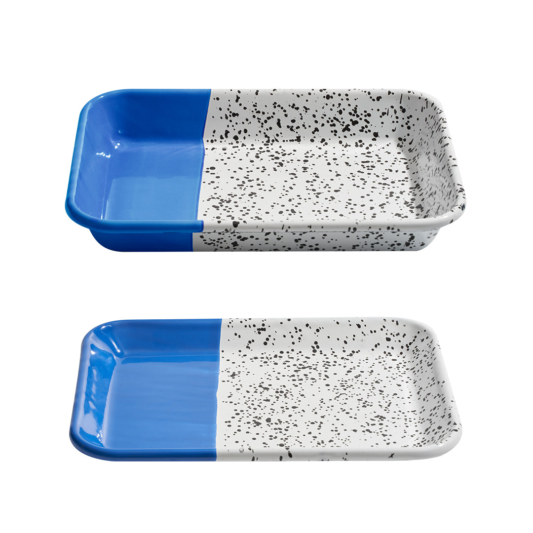 Mind Pop Serving Tray Set Blue