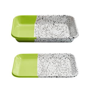 Mind Pop Serving Tray Set Lime Green