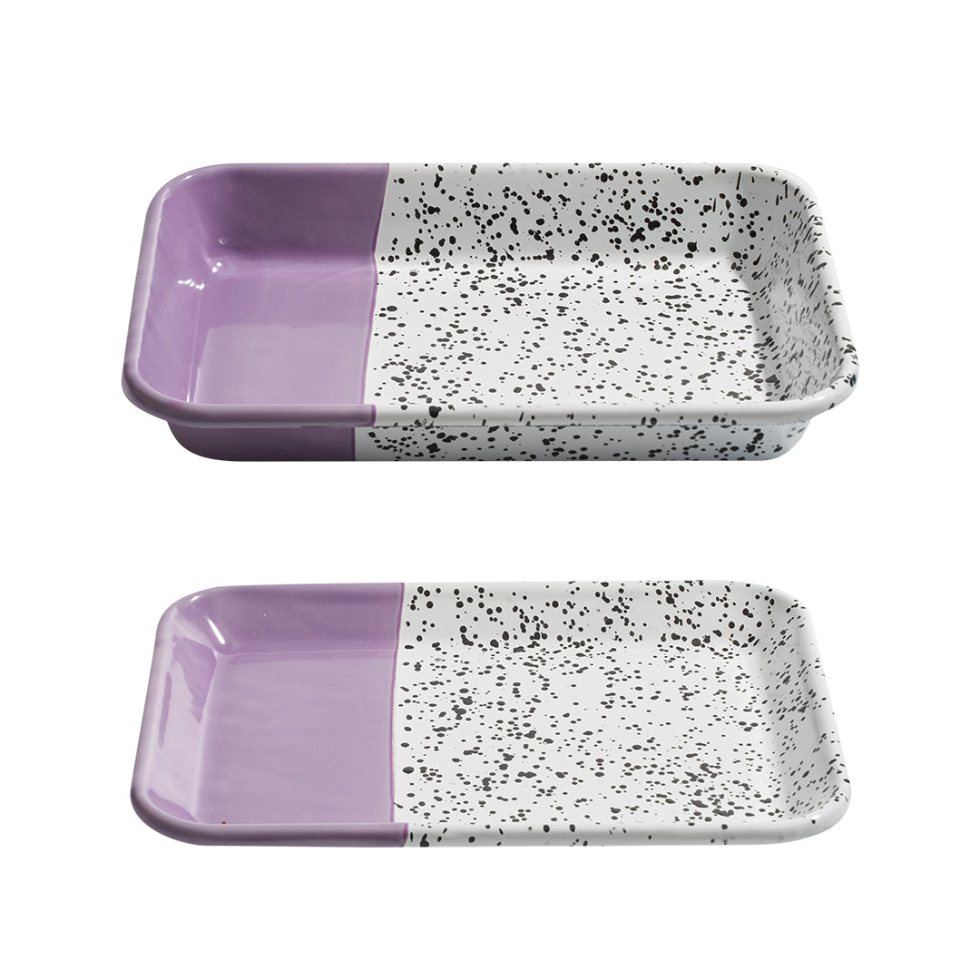 Mind Pop Serving Tray Set Purple