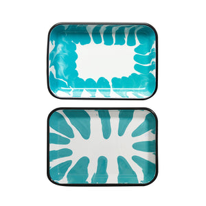A Little Color Tray Set Turquoise Green