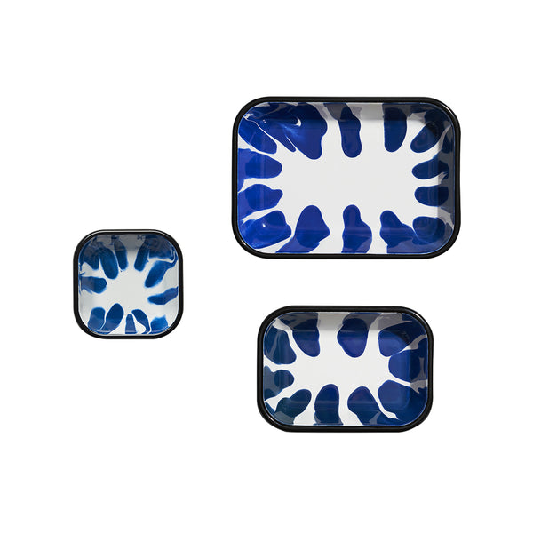 A Little Color Meze Plate Set Blue