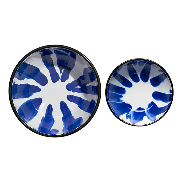 A Little Color Salad Bowl Set Blue