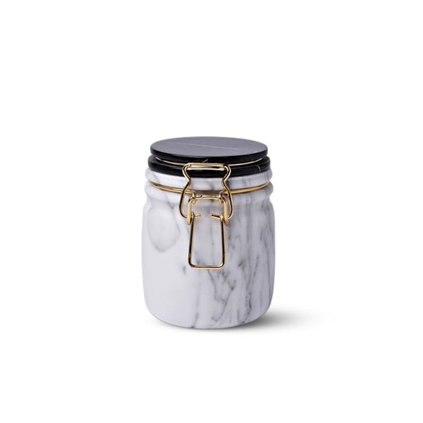 House of Jay | Miss Marble Jar -Arabescato|Marquinia