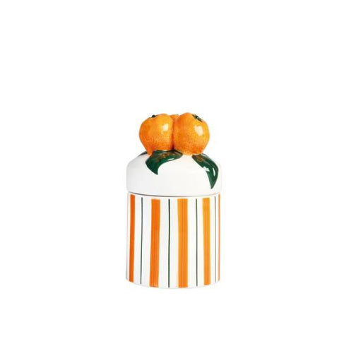 Orange Jar Small