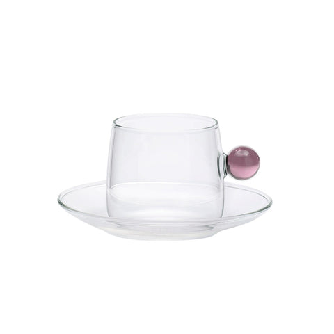 Bilia Tea Cup Set of 6 - Pink