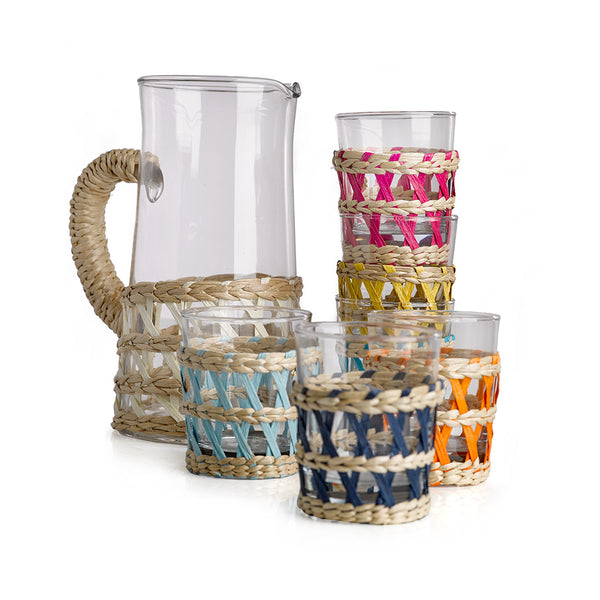 House of Jay | Pols Potten Tumbler & Reed Set | Dining | Glassware