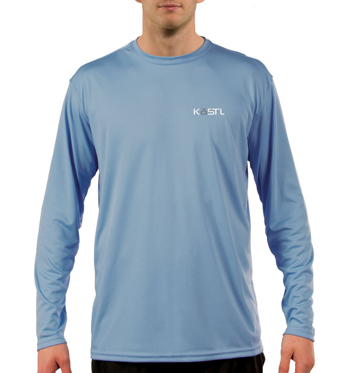 Solar Long Sleeve - Ocean Blue