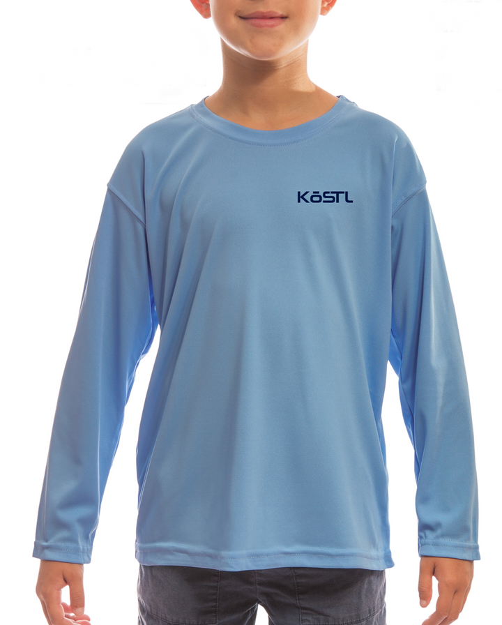 Kids Sun Shirt - Columbia Blue