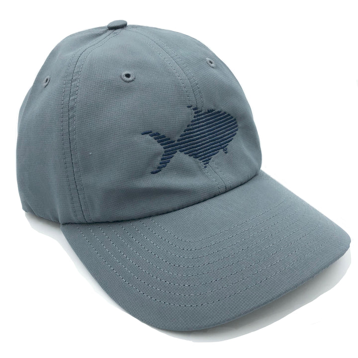 "Pompano UV ""Dad Hat"" in Carbon Grey"