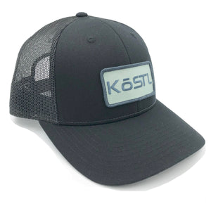 KōSTL LoPro Trucker - Black with Mint Patch
