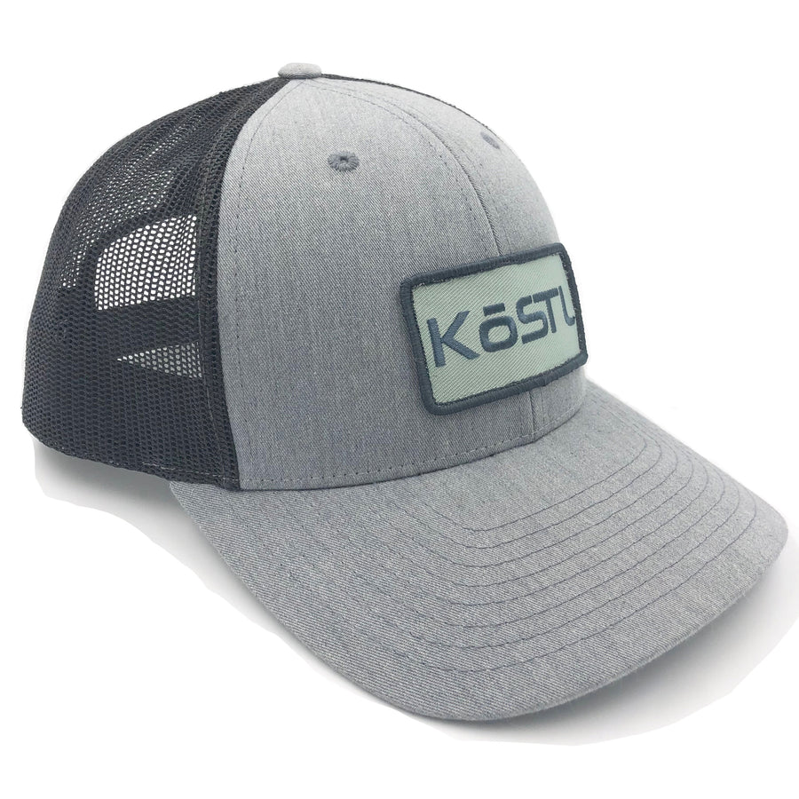 KōSTL LoPro Trucker - Grey with Mint Patch
