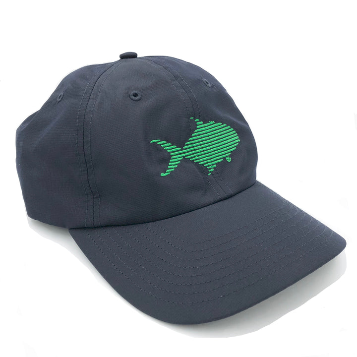 "Pompano UV ""Dad Hat"" in Navy"