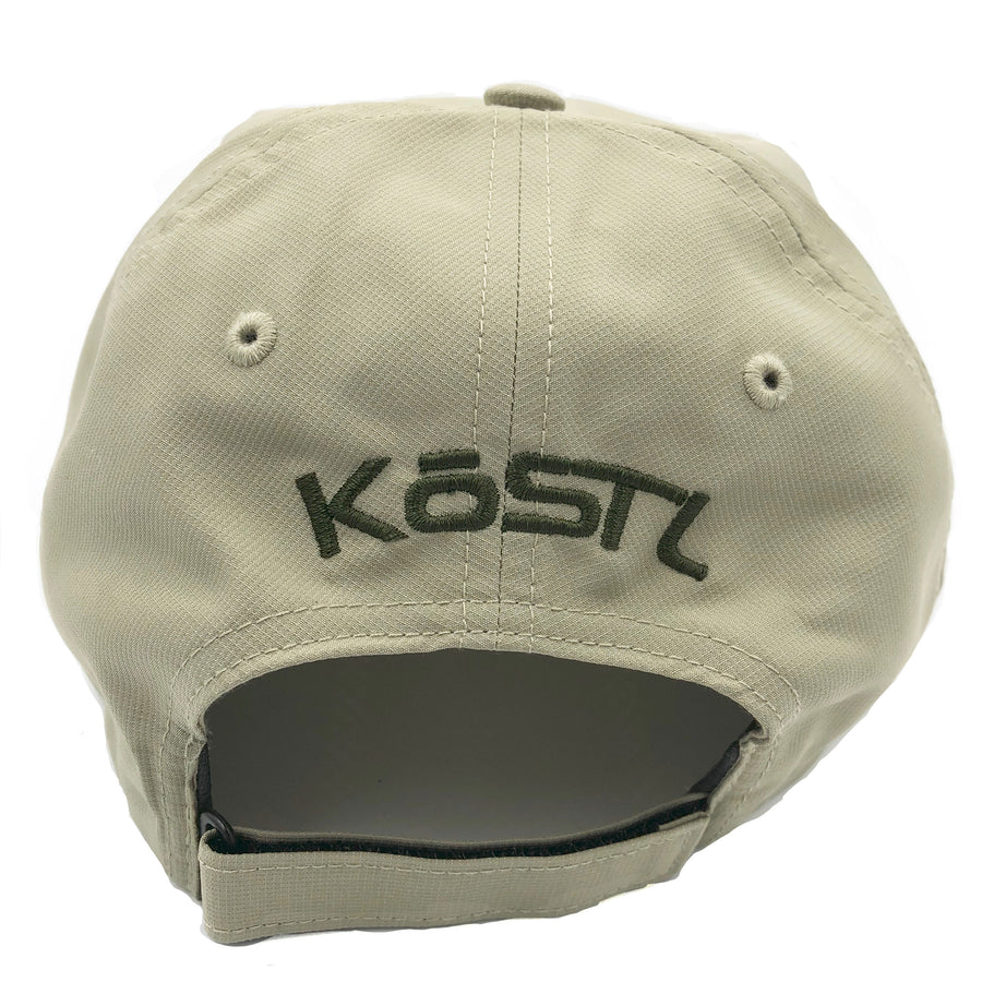 "Pompano UV ""Dad Hat"" in Khaki"