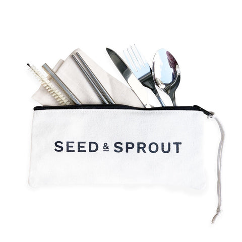 Travel Utensil Pouch