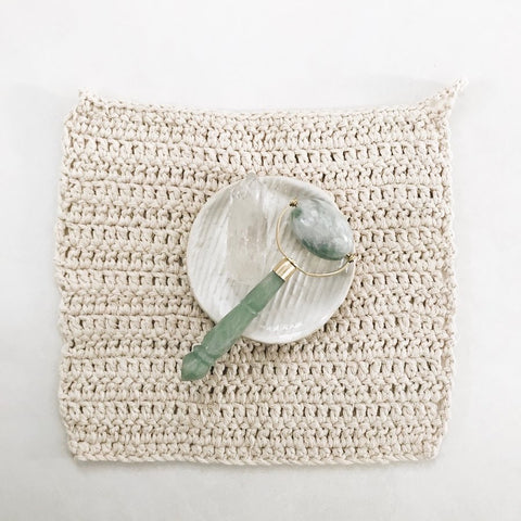 Crotchet Cotton Wash Cloth