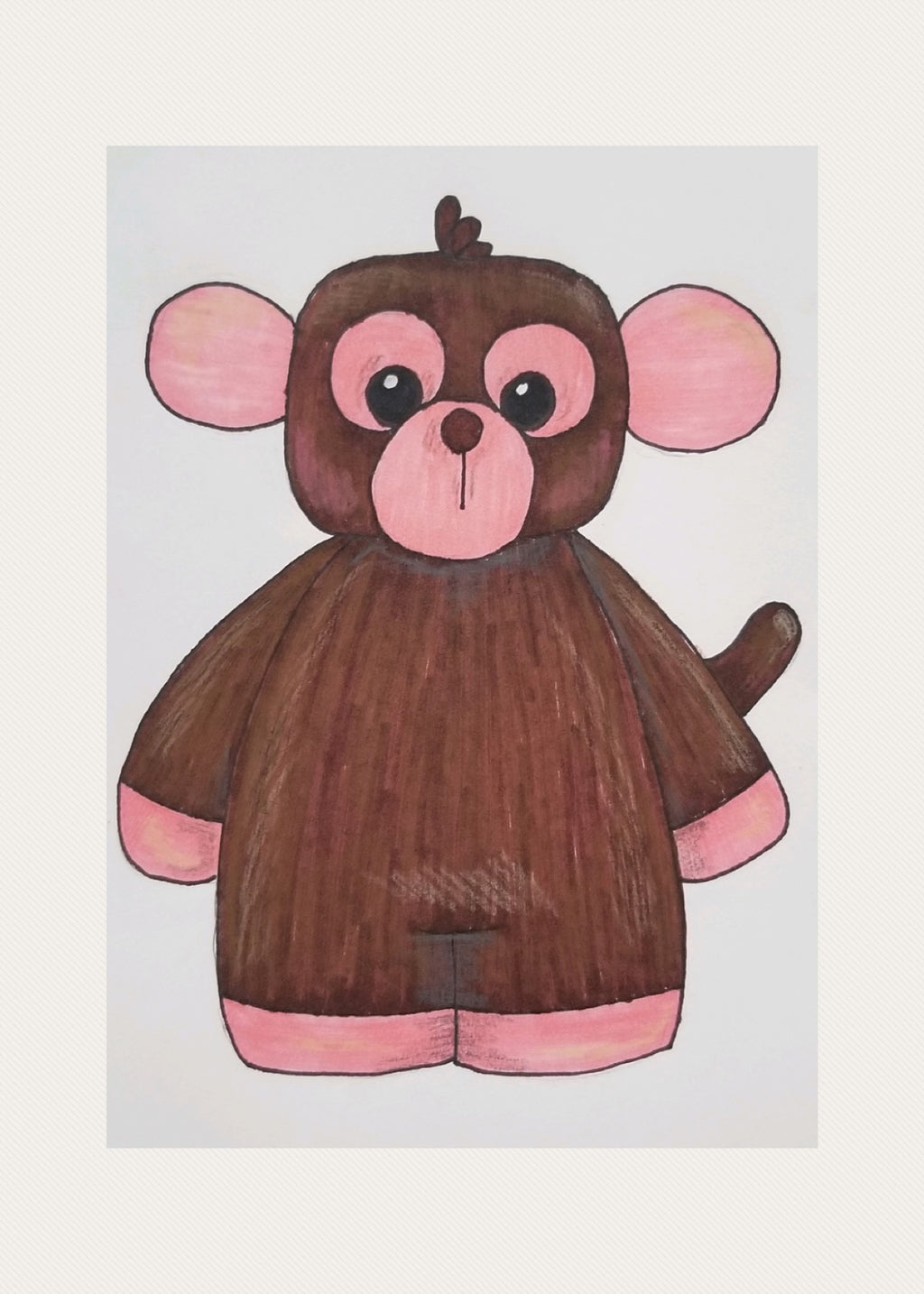 Monkey Doll Buddy