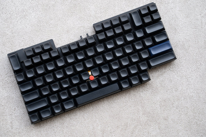 7-Row keyboard prototype