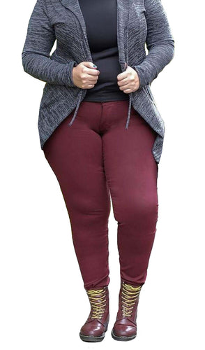 Curvy - Vino Merlot (Wine Red)
