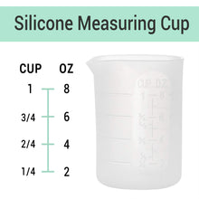 250ml & 100ml Silicone Measuring Cups, Gartful Silicone Mixing Cups for Epoxy, Resin Arts, Glue, Jewelry Casting Molds, Acrylic Paint Pouring, Cup Making, Waxing, Crafts, Nonstick Reusable, Set of 6
