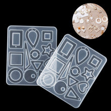 (Resin Earring Molds) - Suhome Resin Jewellery Moulds Epoxy Resin Earring Moulds, Pendant Moulds, Bracelet Moulds and Necklace Moulds Kits 249 Pcs Silicone Resin Casting Moulds for Jewellery Making